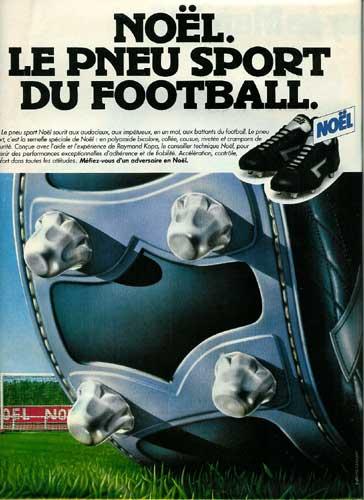 Noël le pneu du football