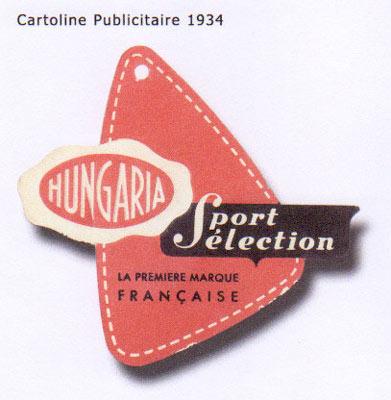 Publicité datant de 1934