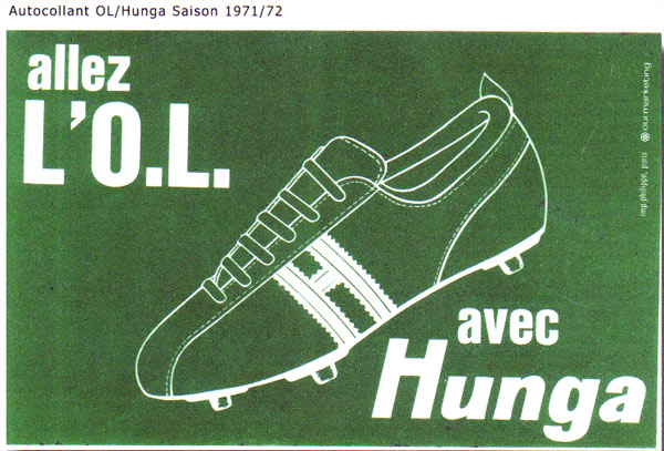 Hungaria avec l'OL