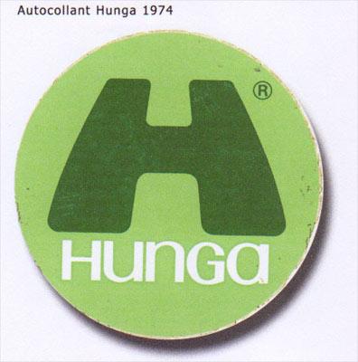 Autocollant Hungaria