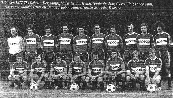 L'USM saison 1977-1978