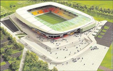 Le projet de stade