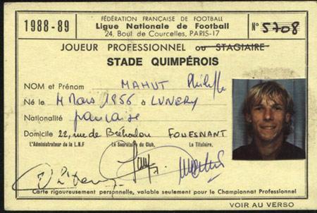 Licence Stade Quimpérois