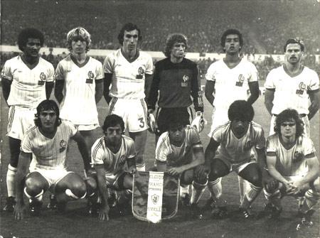 9 septembre 1981 : 1ère selection contre la Belgique